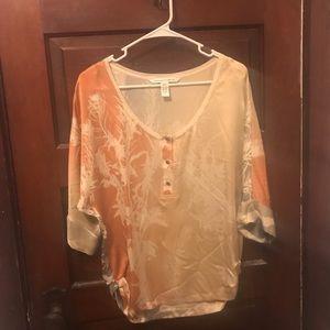 Diane von Furstenburg 100% silk top